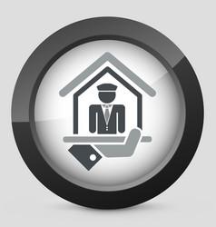 doorman icon vector image