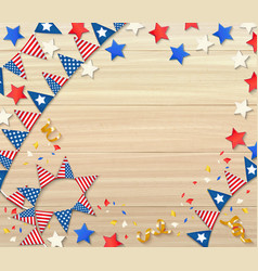 independence day design composition vector image