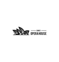 Opera house logo vector