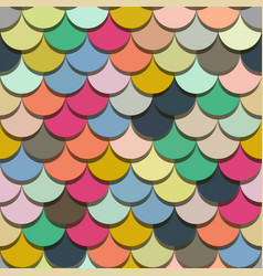 Paper scales seamless squama colourful vector