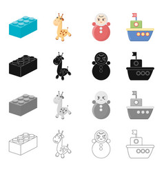 recreation care games and other web icon in vector image