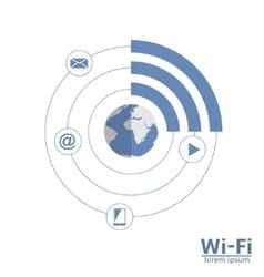 Wi-Fi scheme vector