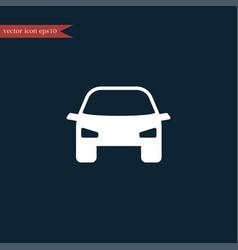 car icon simple vector image