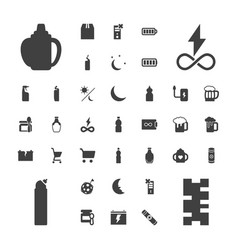 37 full icons vector