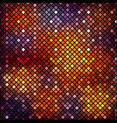 Background mosaic squares with rounded corners vector