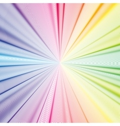 Colorful 3d background with abstract waves lines vector