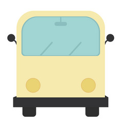 hippie van transport vehicle icon vector image