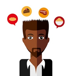 personal thought vector image