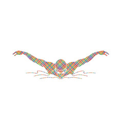 swimming butterfly man swimming vector image