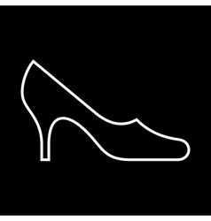 Women shoe vector image