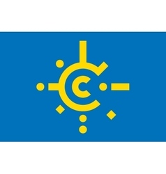 Flag of CEFTA vector image vector image