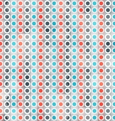 abstract circle lines seamless pattern vector image