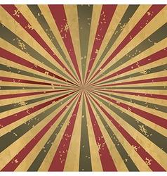 Vintage Burst Background vector image vector image