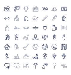 49 creative icons vector