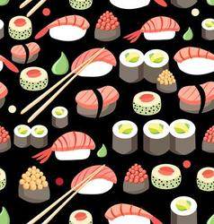 Beautiful of delicious Japane vector