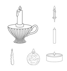 Design source and ceremony logo set of vector