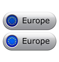 EU flag buttons vector