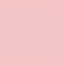 Gently pastel baby color background dots seamless vector