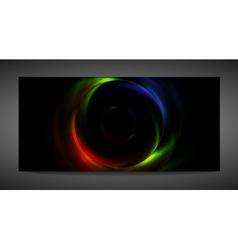 Rainbow ring vector