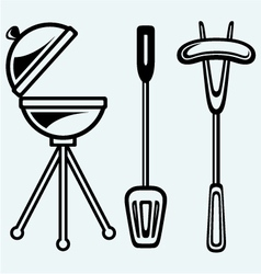 Set bbq objects vector
