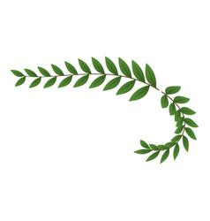 trophy wreath icon isometric style vector image