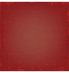 Vintage red grunge texture or background vector image