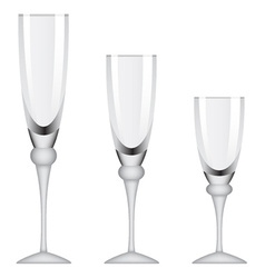 Wineglasses vector