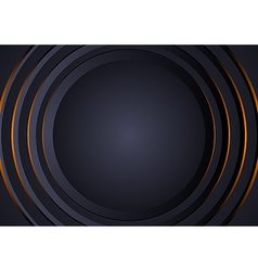 Background with Circular Layers vector image vector image
