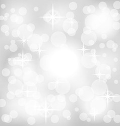 Abstract gray background with lights vector image vector image