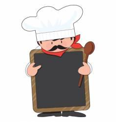 chef board vector image vector image