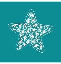 Vintage Ethnic star vector image vector image