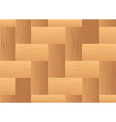 A topview of a wooden table vector