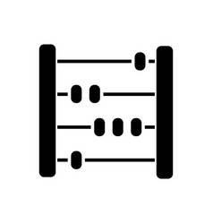 Abacus - scores - counter icon vector