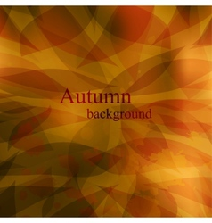 Abstract cute autumnal background vector