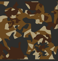 Camouflage pattern back vector