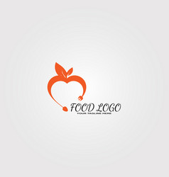 Food logo template logo for restaurant business vector