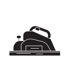 Joinery machine black concept icon joinery vector