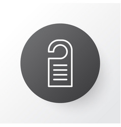 tag icon symbol premium quality isolated price vector image