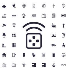 Transmitter icon vector