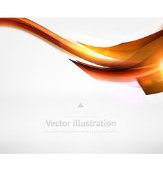 Abstract Line Design Against White Background vector image vector image