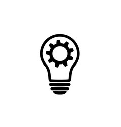 Creative business analysis and service icon vector