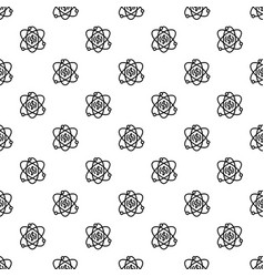 energy atom pattern seamless vector image