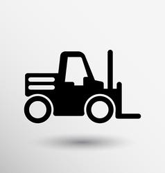 Forklift icon button logo symbol concept vector