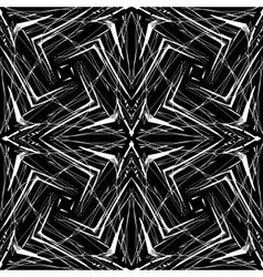 Geometric pattern in hipster style vector image vector image