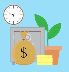 savings money vector image