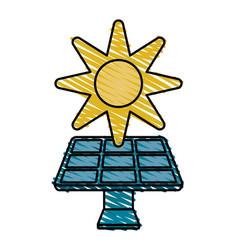Solar panel vector