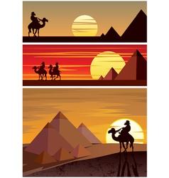 The Pyramids vector