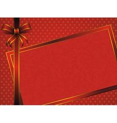 vintage pattern frame vector image