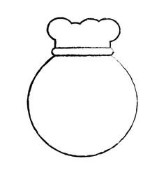 Bag or sack icon image vector