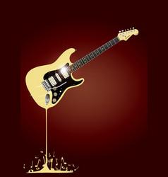 Fluid guitar vector